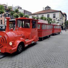 Ribadesella estrena Tren Turístico y con un recorrido mucho mas amplio