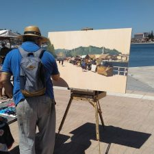 El Certamen de Pintura de Ribadesella regresa este sábado con mas premios y nueva ubicación