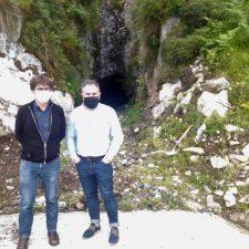La galería minera del Pinche se transformará en cueva para madurar el queso Cabrales