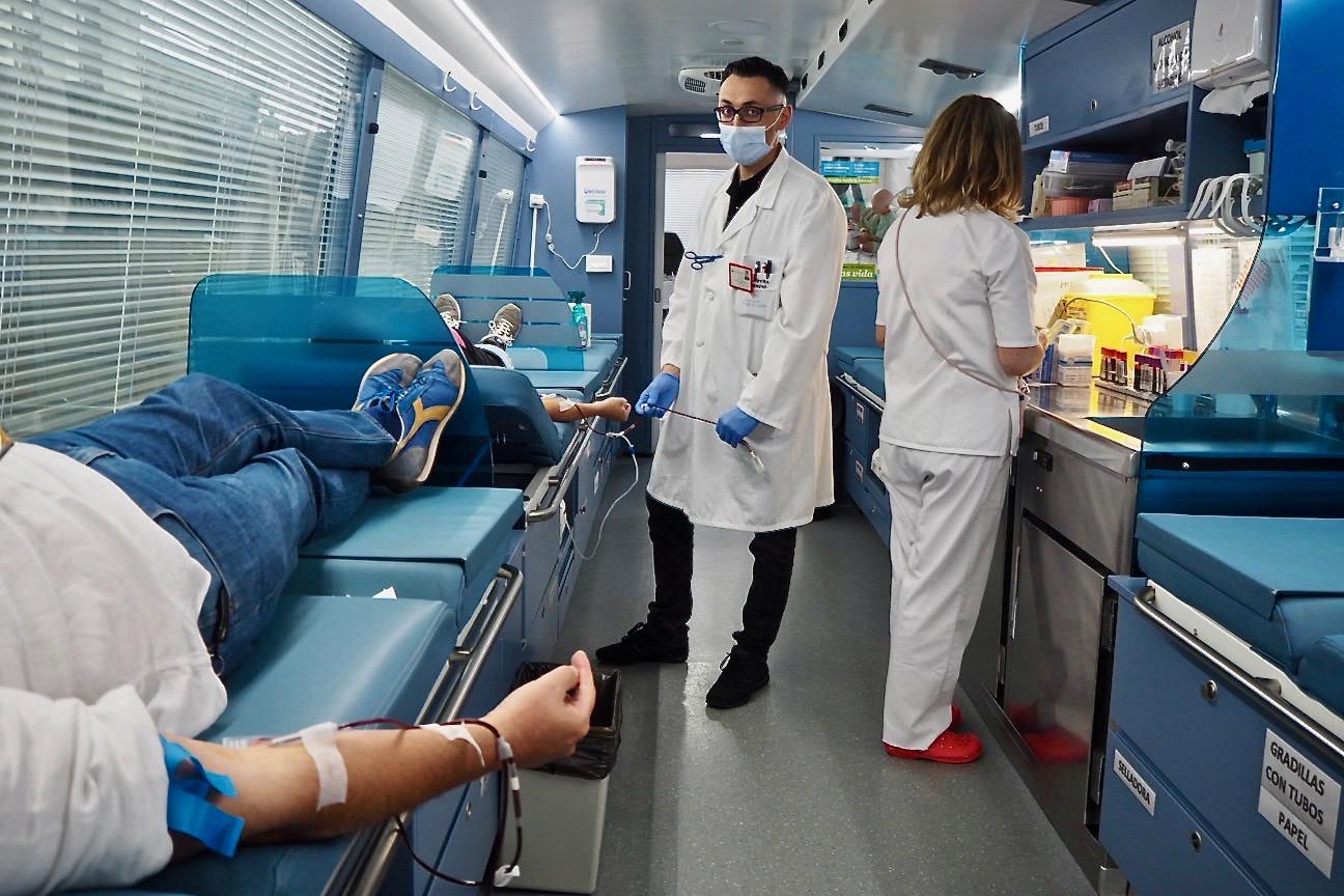 Dos días para donar sangre en la villa de Ribadesella, porque donar sangre es donar vida