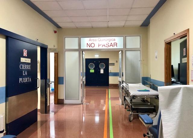 El Hospital de Arriondas queda habilitado de nuevo para acoger el ingreso de pacientes covid