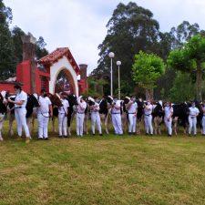 El IES de Luces clausura la 15º Escuela de la Raza Frisona con la entrega de diplomas
