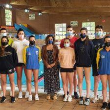 La nadadora canguesa Ineke Ardines concluye con éxito el plan nacional de tecnificación deportiva