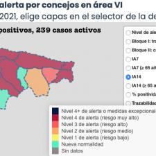 Ribadesella con 11 nuevos contagios, encabeza la tercera peor jornada de la pandemia en la comarca