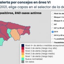 El fin de semana dejó 51 nuevos positivos en el Oriente de Asturias con Ribadesella al alza