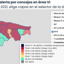 Trece positivos mas en la comarca del Oriente de Asturias