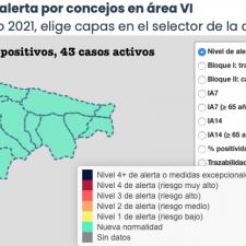 El mes de junio concluye a lo grande, dejando 17 nuevos contagios en el Oriente de Asturias