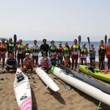 Una legión de asturianos en el Mundial de Kayak de Mar que este domingo comienza en Lanzarote