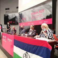 La Asturias Olímpica se reúne en un acto celebrado en el stand que el CODIS y los Amigos de Dionisio comparten en la FIDMA