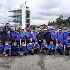 Subcampeonato de Asturias para el Club Piragüismo El Sella en el regional sprint de promoción