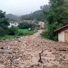Llanes aún sigue esperando por la declaración de zona de emergencia tras la inundaciones de junio