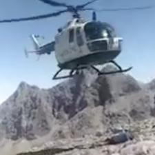 La Guardia Civil rescata a tres montañeros enriscados en el Espolón de los Franceses, en los Picos de Europa