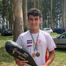 El riosellano Javi García ha sido convocado para el Programa de Tecnificación Nacional Juvenil de piragüismo sprint