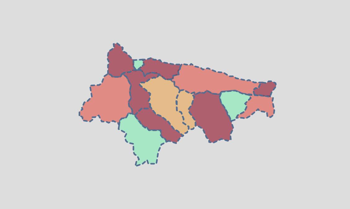 El martes dejó 14 nuevos positivos en seis municipios del Oriente de Asturias