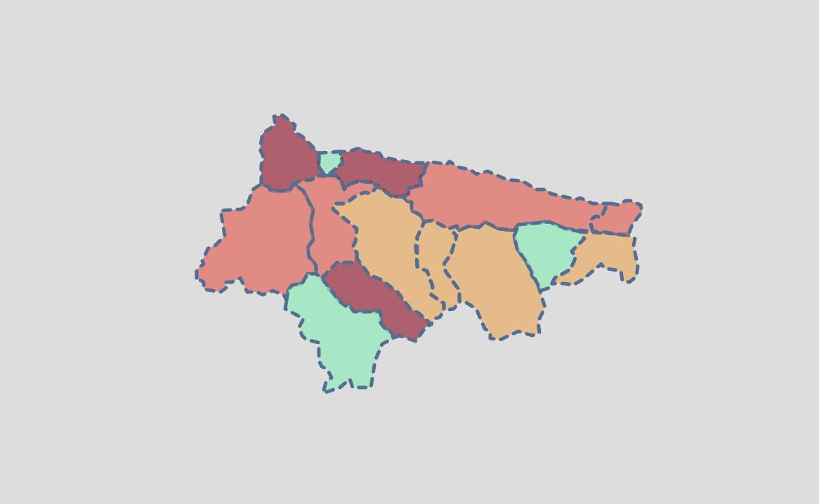 Ribadesella, el único municipio que ha empeorado su situación epidemiológica esta semana en el Oriente de Asturias