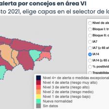 Julio se cierra como el peor del año y agosto comienza con solo 6 positivos en el Oriente de Asturias