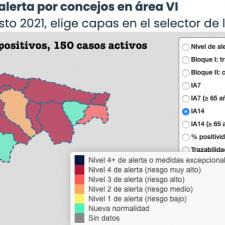 La pandemia se desinfla en el Oriente de Asturias en pleno mes de agosto