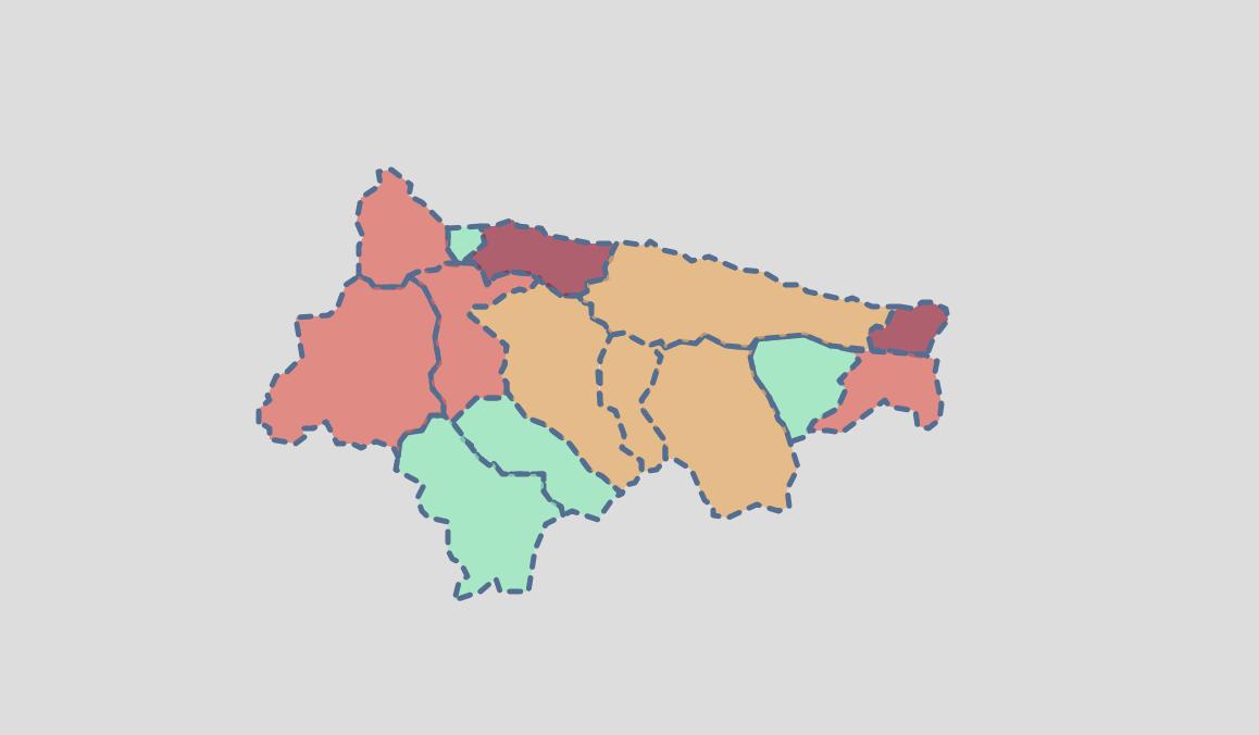 Ligero empeoramiento epidemiológico en el concejo de Ribadesella tras los datos del fin de semana