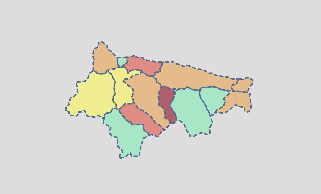 El Oriente de Asturias comienza la semana con 10 nuevos positivos y Colunga alcanza el 80% de inmunizados