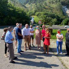 El Partido Popular pedirá en el Congreso la mejora del acceso a Santianes y la ampliación del puente de Ribadesella