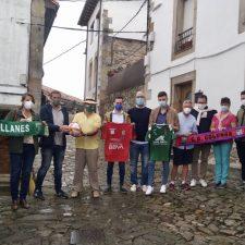 Comida de hermandad entre el CD Colunga y el CD Llanes previa al derbi comarcal de este miércoles