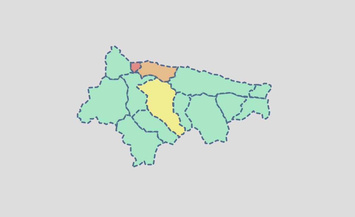 El Oriente de Asturias solo ha acumulado 13 casos de coronavirus en lo que llevamos de septiembre
