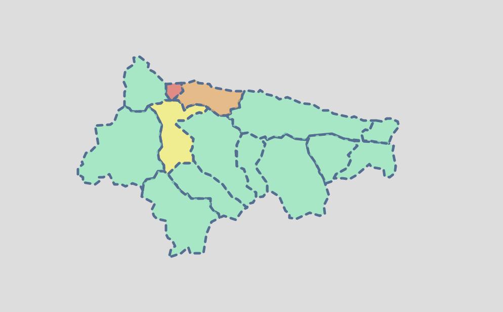 El miércoles deja dos positivos en Parres y el coronavirus obliga a confinar dos aulas en el C.P. Reconquista de Cangas de Onís