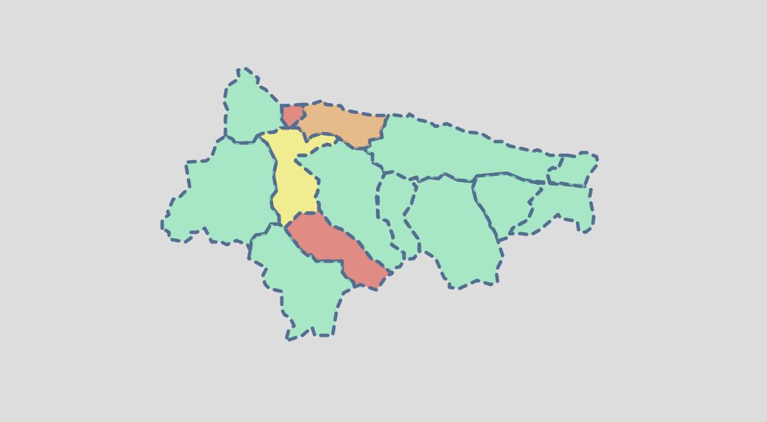 El Oriente de Asturias suma tres nuevos contagios, pero la incidencia continúa muy baja