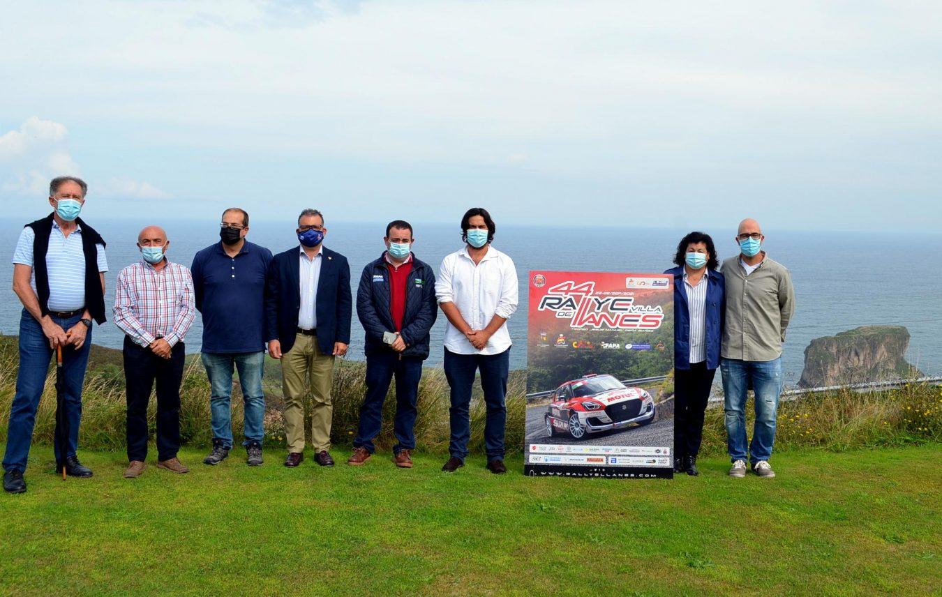 El Rallye Villa de Llanes regresa al calendario automovilístico con récord de participación