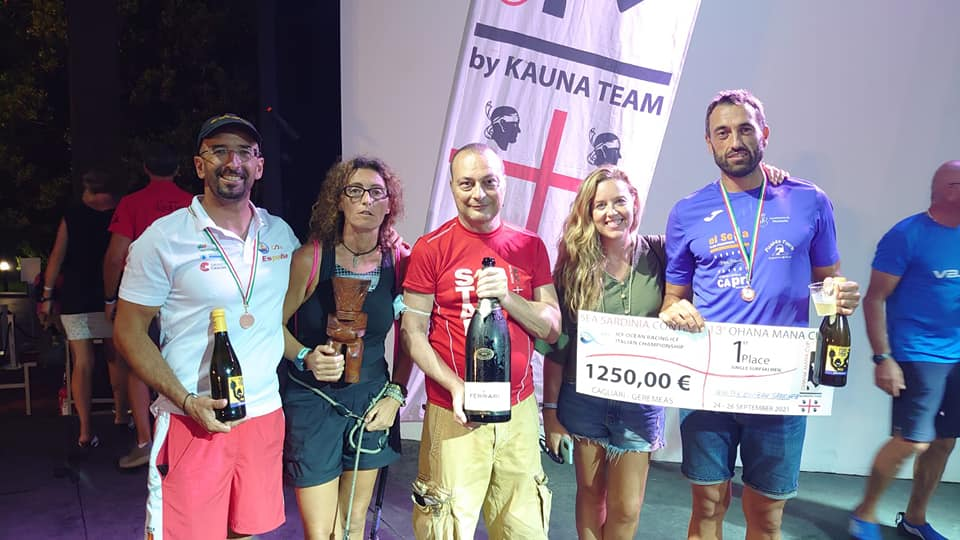 Walter Bouzán gana la Ohana Mana Cup de Surfski disputada en Cerdeña