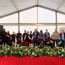 Homenaje público a los voluntarios de Protección Civil de Piloña en su 25º Aniversario