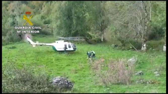 Rescatados dos chavales de Oviedo que pasaron la noche en el Picu Pierzu