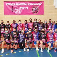 El balonmano femenino de Ribadesella regresa a la competición después de año y medio parado por la pandemia