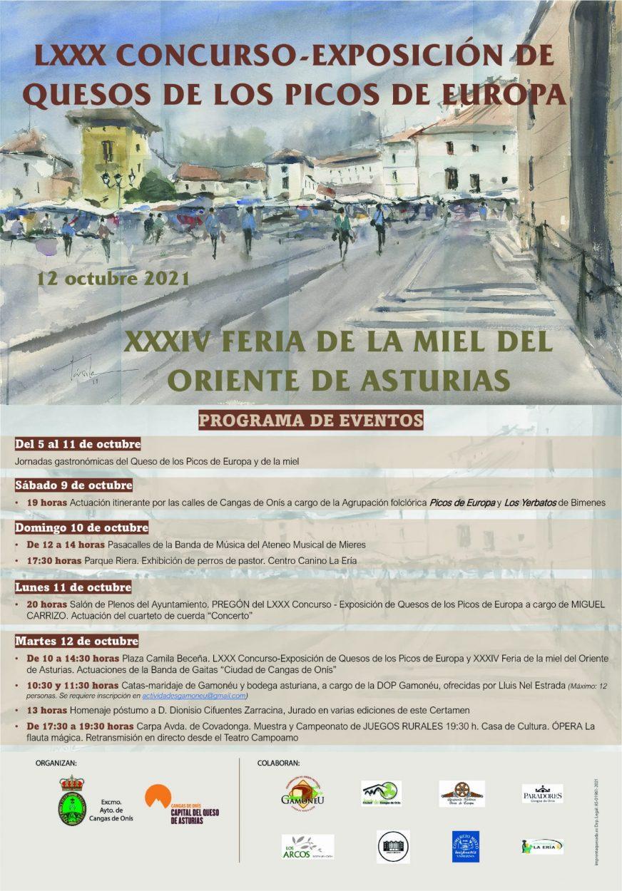 El periodista e influencer, Miguel Carrizo, pregonará el concurso-exposición de quesos de Cangas de Onís