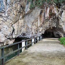 Cultura reparará la pasarela de acceso a la cueva Tito Bustillo y recuperará el antiguo patio abierto del edificio de entrada