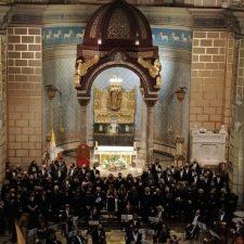 Monumental éxito parragués en el estreno musical del año en Oviedo, el Himno a San Juan El Real