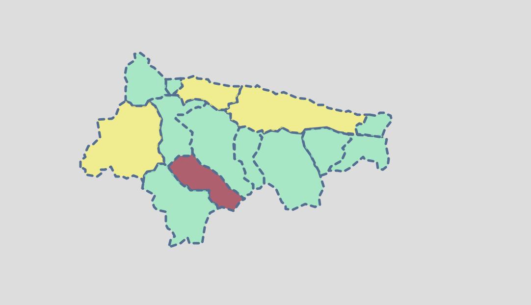 Tercer día sin contagios en el Oriente de Asturias y mañana en Ribadesella, nueva jornada de vacunación sin cita previa