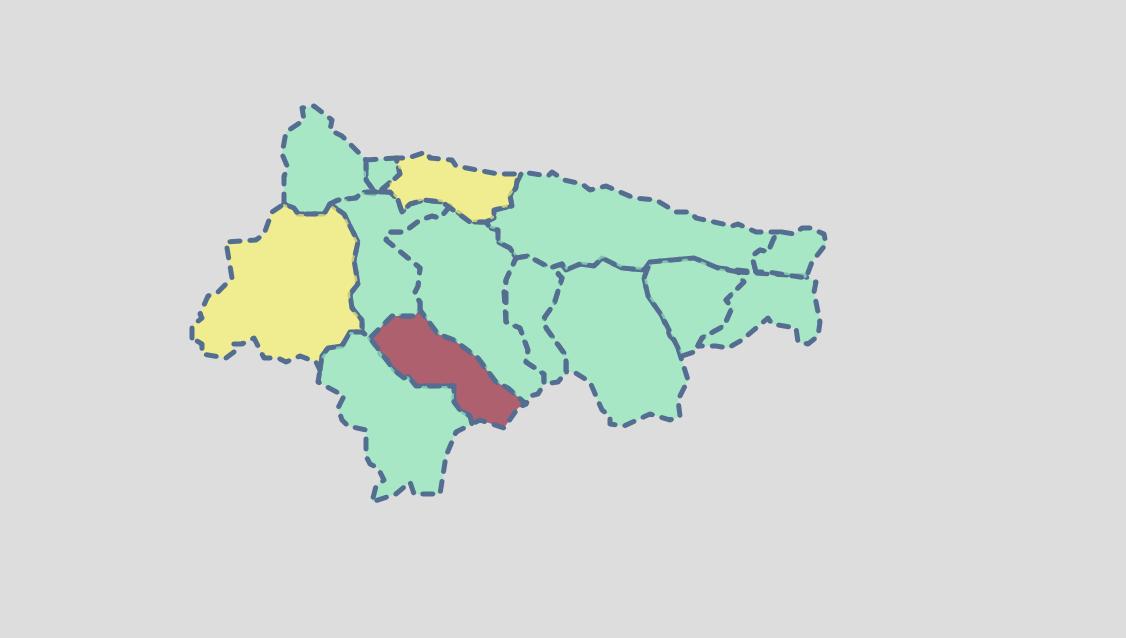 El Oriente de Asturias acumula cuatro días consecutivos sin contagios y reduce a 11 sus casos activos