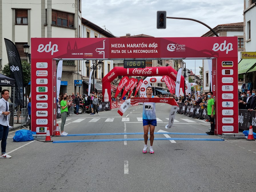 La Media Maratón Ruta de la Reconquista regresa con 800 atletas y nuevo récord
